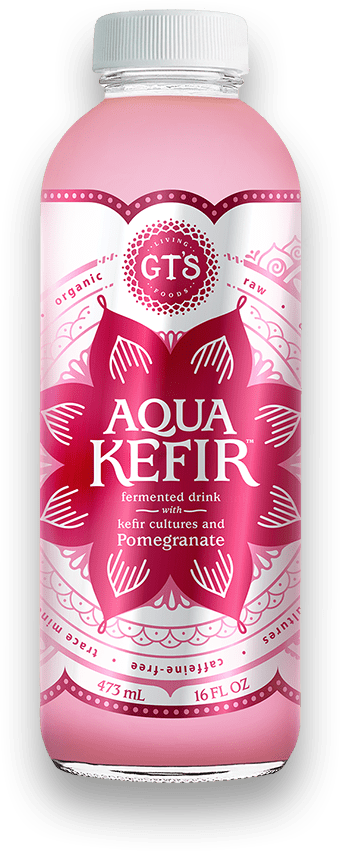 Fermented Drink with Kefir Cultures and Pomegranate